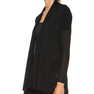 Helmut Lang Modal Black Cardigan - Small